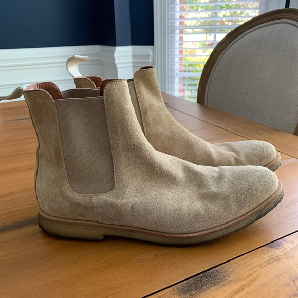 Common Projects Chelsea Boots Size